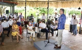 En Tapachula, Rutilio Escandón inaugura la Semana Restaurantera