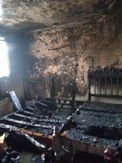 Se incendia casa en San Pedro Progresivo