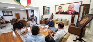 Se reúne Rutilio Escandón con la Asociación de Criadores de Razas Puras del Estado de Chiapas