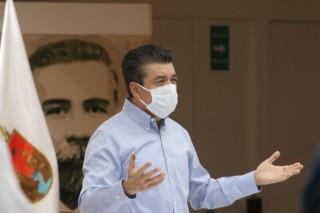 Chiapas mantiene la tasa más baja en hospitalización y defunciones por COVID-19: Rutilio Escandón
