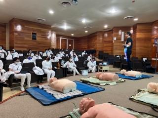 Recibe personal médico del ISSTECH cursos de actualización sobre RCP