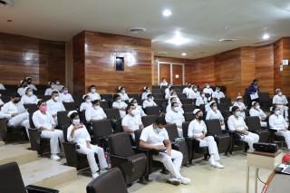 Concluyen servicio social estudiantes de la Licenciatura en Enfermería