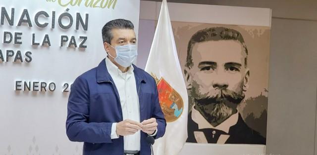 En Chiapas, inicia aplicación de vacuna anti COVID-19 al personal de salud