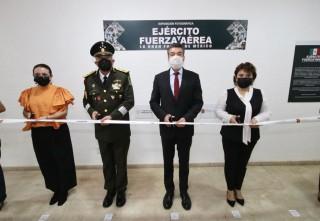Reconoce Rutilio Escandón apoyo del Ejército Mexicano y la Fuerza Aérea al pueblo de Chiapas