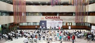 La Federación de Chiapas a México muestra la voluntad de un pueblo democrático: Rutilio Escandón